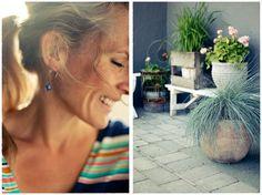 Me Naiset – Blogit | Kalastajan vaimo – Viherhommia etupihalla Hoop Earrings, Tricot, Circle Earrings