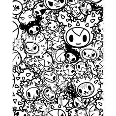 9 Best Tokidoki Images On Pinterest Printable Coloring Pages