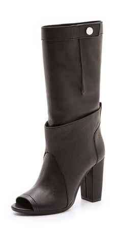 3.1 Phillip Lim Issa Peep Toe Boots |SHOPBOP | Save up to 25% Use Code BIGEVENT13