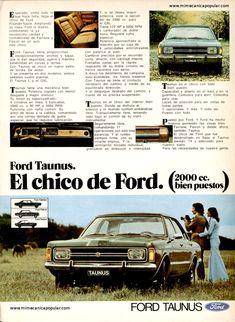 Mecánica Popular - Ford Taunus