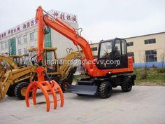 SW-60C Timber Backhoe Loader - China Backhoe Loader;timber loader;backhoe loader, SHENWA