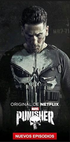 A former Marine out to punish the criminals responsible for his family's murder finds himself ensnared in a military conspiracy. Marvel Films, Marvel Dc Comics, Marvel Characters, Marvel Cinematic, Netflix Marvel, Marvel Avengers, Punisher Comics, Punisher Skull, Jon Bernthal Punisher