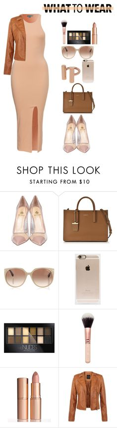 """""""WHAT TO WEAR"""" by dopegeezy ❤ liked on Polyvore featuring moda, Semilla, DKNY, Tom Ford, Incase, Maybelline, Charlotte Tilbury, women's clothing, women y female"""