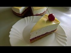 Torte Recepti, Kolaci I Torte, Cheesecake Recipes, Dessert Recipes, Desserts, Cherry Recipes, Croatian Recipes, Sweet Cakes, Tray Bakes