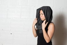 The Initiation Scarf - $50- Pre-workout or post, look fierce while protecting yourself from the elements. Our infinity scarf is moisture wicking and long enough to wrap and create a hood. Also, store your cards in a hidden pocket for those times you can't carry a bag.