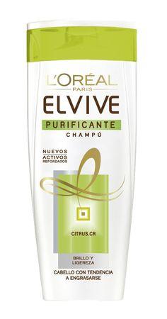 Champú Elvive Purificante Citrus de L'Oréal Paris: Amazon.es: Salud y cuidado personal