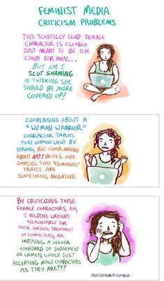 Dilemmas in feminism. It's like they've read my mind!