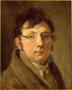Louis Léopold Boilly | Autoportrait de l'artiste portant des lunettes (1761-1845)