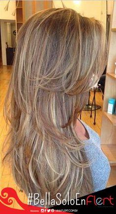 Perfec hair long #BellaSoloEnFlert #Hair