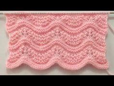 Beautiful And Easy Knitting Pattern For Sweater/Cardigan/Baby Blanket/Shawl - Yo. Ladies Cardigan Knitting Patterns, Easy Knitting Patterns, Knitting Designs, Crochet Patterns, Knitting Stiches, Knitting Videos, Free Knitting, Baby Knitting, Big Knit Blanket