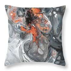 Like Phoenix Rising From Ash 5 Throw Pillow for Sale by Jenny Rainbow Artwork For Home, Home Art, Designer Pillow, Pillow Design, Phoenix Rising, Pillow Sale, Different Patterns, Basic Colors, Poplin Fabric