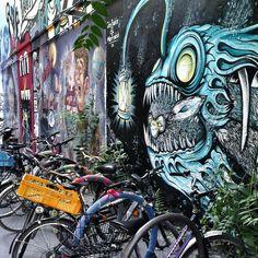 Hackesche Höfe, Berlin, Germany Street Art