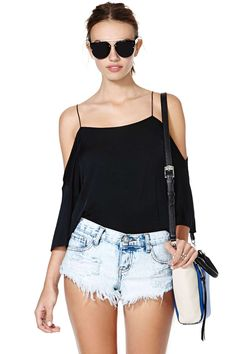 Cheap Monday Keep Top | Shop Barely There at Nasty Gal