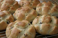 Pandiramerino - italienske småbrød med rosmarin og olivenolje