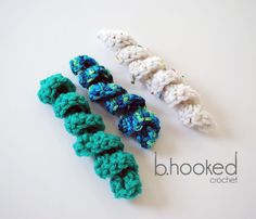 Learn how to crochet curly cues with this free pattern and video tutorial from B.hooked Crochet. A technique every crocheter should have in their tool belt!
