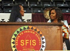 First Lady Of The United States #MichelleObama May 26, 2016 SANTA FE, N.M. (KRQE) – It was a big day for about one hundred New Mexico high school graduates. Not only did they receive their diplomas but they also heard a commencement speech from First Lady Michelle Obama. Mrs. Obama came to New Mexico Thursday afternoon, May 26, 2016 specifically to address these Native American students as part of a white house initiative. And the students and parents we talked to were thrilled that she woul...