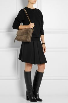 PROENZA SCHOULER Leather knee boots $518.00 http://www.net-a-porter.com/products/443883