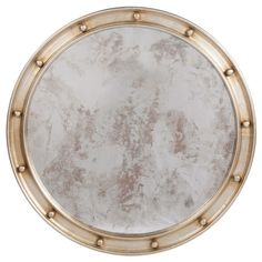 Worlds Away Federal Silver Leaf Mirror @Zinc_Door
