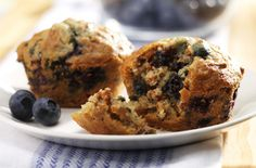 A favorite for generations: Blueberry Bran Muffins