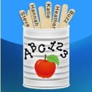 stick pick. Love this app! You can set up names or use their class numbers and have different cans for all kinds of situations (answering questions, partners, etc). Can also link to Bloom's Taxonomy questions.