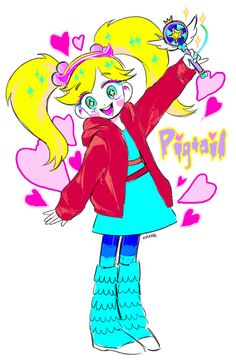 [SVTFOE] Pigtail! by area32 on DeviantArt