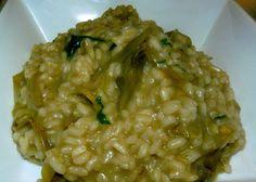 Risotto con Carciofi - http://cucinasuditalia.blogspot.it/2010/10/risotto-con-carciofi.html
