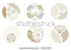 Find Japanese Pattern Vector Gold Geometric Icon stock images in HD and millions of other royalty-free stock photos, illustrations and vectors in the Shutterstock collection. Japan Logo, Japan Branding, Identity Branding, Visual Identity, Japan Illustration, Illustration Ligne, Japanese Icon, Japanese Modern, Japanese Art