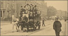 Omnibus, London, Late 19th Century-The innovation was carried to London in 1829 by George Shillibeer, a successful English coach maker, who had been working in Paris. As in France, the omnibus was used mostly by middle-class commuters. By 1854, more suburban commuters used the omnibus than steamboat and railroad combined.