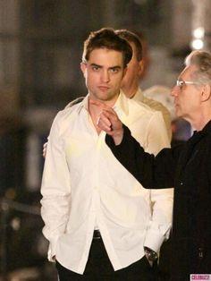 Robert Pattinson: Cosmopolis Set