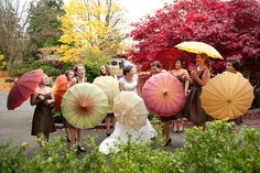 Real Wedding: Autumn inSeattle #vintage