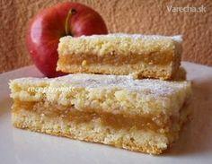 Babkin jablkový koláč (fotorecept) Sweet Desserts, Sweet Recipes, Slovakian Food, Lithuanian Recipes, Sweet Cooking, Czech Recipes, Desert Recipes, Dessert Bars, Cookie Recipes