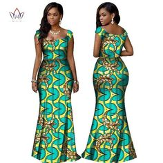 Image of BRW 2017 African Print Two Piece Set Dashiki African Clothes for Women Bazin Square Collar Sleeveless Crop Skirt and Top Latest African Fashion Dresses, African Dresses For Women, African Print Fashion, Africa Fashion, African Attire, African Wear, African Clothes, African Dashiki, African Prints