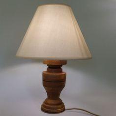 Veioza cu abajur din material textil si picior din lemn masiv de fag model 7 Table Lamp, Lighting, Home Decor, Table Lamps, Decoration Home, Room Decor, Lights, Home Interior Design, Lightning