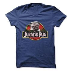 Awesome Pug Lovers Tee Shirts Gift for you or your family your friend:  RAAAR! Jurassic Pug Is Here!!! Tee Shirts T-Shirts
