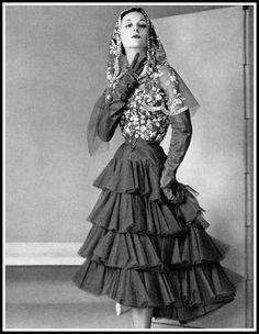 Cristóbal Balenciaga, photo by Philippe Pottier, 1950
