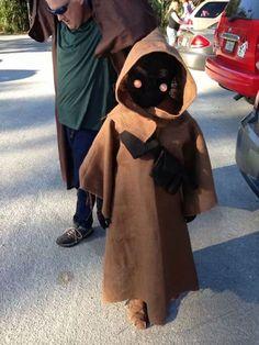 "Costume di Halloween da Jawa di ""Star Wars"""