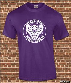 PURPLE COBRAS mens T-Shirt all sizes available by UnderGroundGear