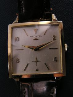 I love and collect vintage Hamilton watches!!