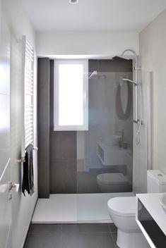 Mooie lange smalle badkamer. | badroom | Pinterest