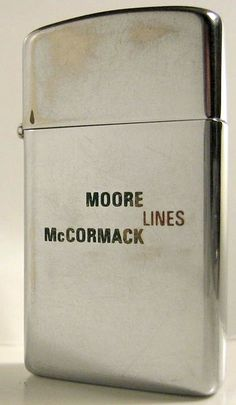 MOORE McCORMACK LINES Full size Zippo