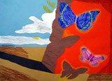 Artsonia Art Exhibit :: Dali's Butterflies