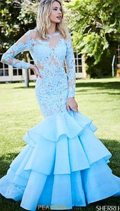 Stand out at this year's 2020 Prom with Peaches Boutique's vast Selection of Prom Dresses & Gowns. Baby Blue Wedding Dresses, Light Blue Wedding Dress, Baby Blue Weddings, Black Prom Dresses, Dressy Dresses, Cute Dresses, Mermaid Gown, Mermaid Dresses, Mermaid Skirt