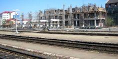 Viitoarea gară a Piteștiului încă în construcție Street View