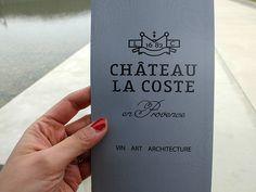 Château la Coste : du vin et des oeuvres d'art | Anais et Pedro