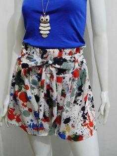 wengpot Nwot Janela Skort fits 29-31  garterized waist