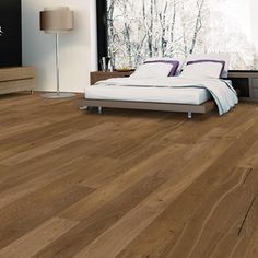 Product Image 3 Natural Flooring, Best Flooring, Engineered Hardwood Flooring, Hardwood Floors, Lowes Home Improvements, Brown Wood, Home Renovation, Traditional, Living Room