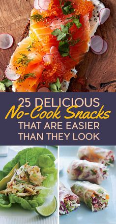 25 Delicious No-Cook Snacks That Are Easier Than They Look
