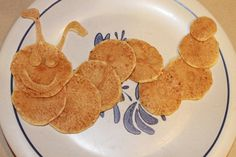 Inchworm pancake