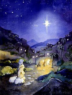 Bethlehem by Alina-Kurbiel.deviantart.com on @DeviantArt