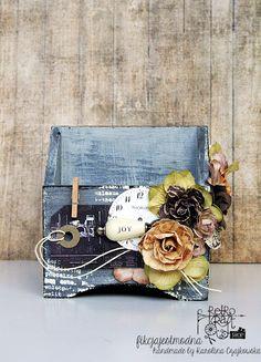 Retro Inspiracje: Dekoracyjny organizer Karoliny / Retro Inspirations: Karolina's decorative organizer